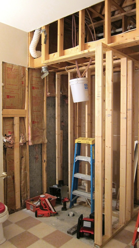 Bathroom remodel sequence ask the builderask the builder for Fast bathroom remodel