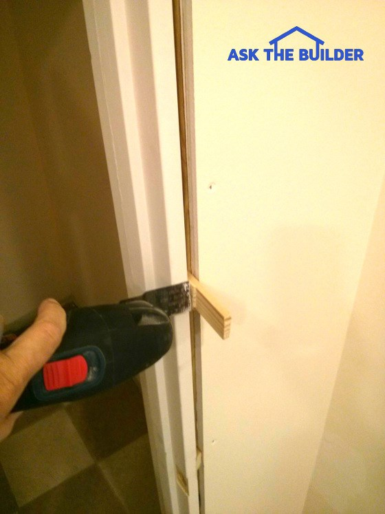 wood door shim