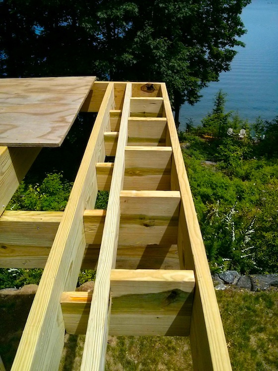 Deck Picture Frame Framing - Ask the Builder