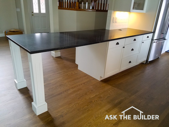 Granite top supports ask the builderask the builder Granite counter support