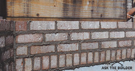 Brick Leaks Ask The Builder