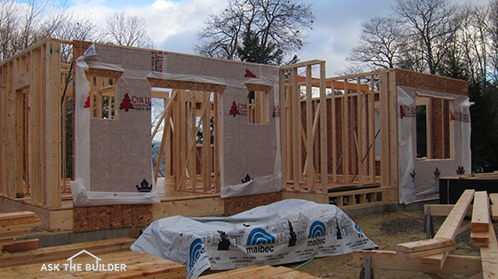 2x4 vs 2x6 exterior walls ask the builder - Osb house building value for money ...