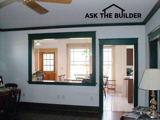 Load Bearing Wall Identification