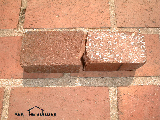 Rust removal from concrete pavers ask the builder for Ask the builder