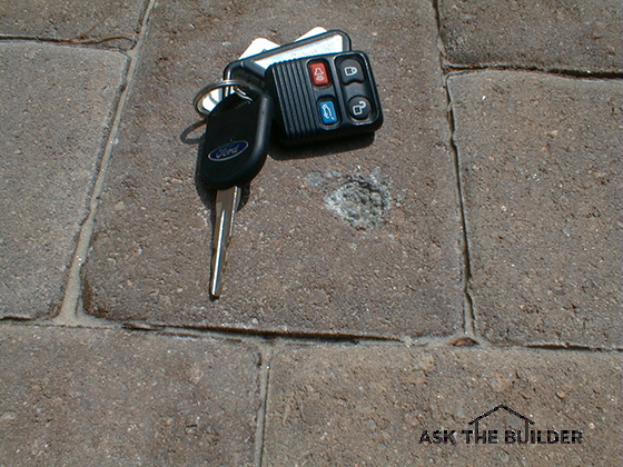 Rust Removal From Concrete Pavers Ask The Builder