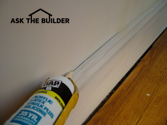 How To Caulk Baseboards