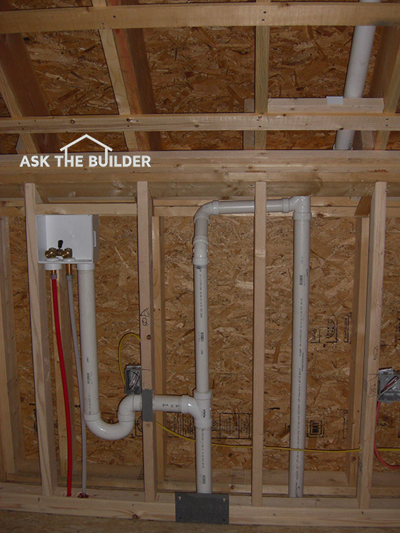 Plumbing vent pipe delivers air must slope