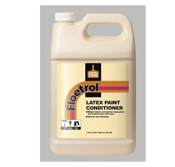 Floetrol latex paint conditioner bottle