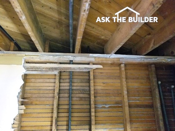 joist and studs not lined up