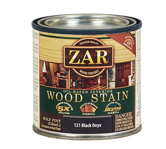black grout stain