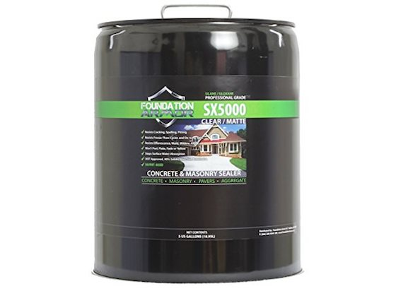 Penetrating sealer concrete masonry sealer can