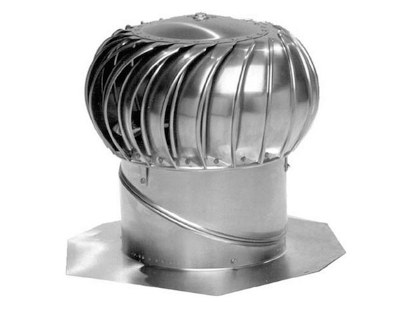 turbine roof vent