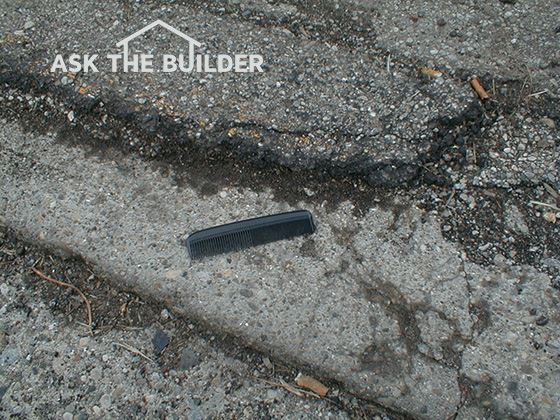 Blacktop Over Concrete - It's Not A Great Idea | AsktheBuilder.com