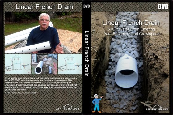 linear french drain