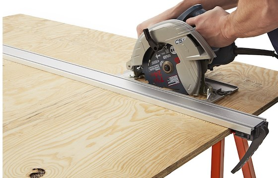 Clamping Straigthedge for straight cuts