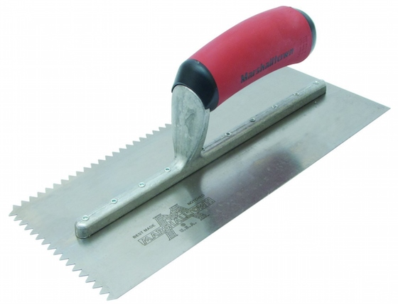 notched trowel
