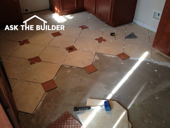 Ceramic Floor Tile Installation Tips And Secrets Ask The Builder