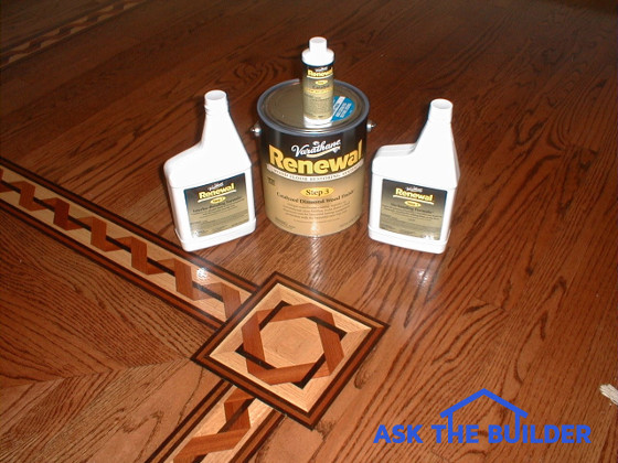 Restoring Hardwood Floors