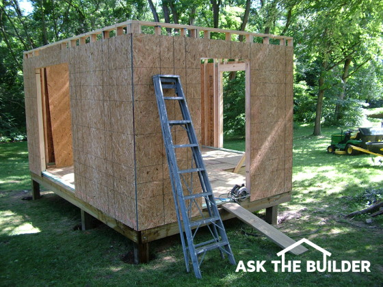 how to build a shed ask the builder. Black Bedroom Furniture Sets. Home Design Ideas