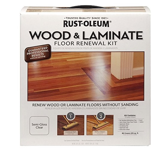 DIY floor refinishing system