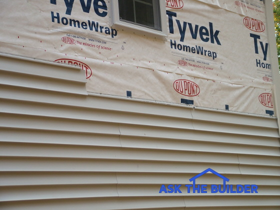 vinyl siding installation tyvek home wrap