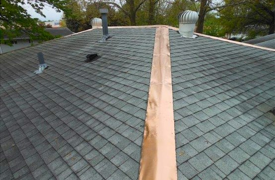 Roof Shingles With Copper Algae Resistant