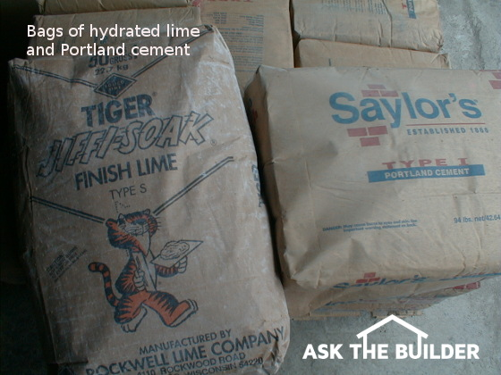 Flagstone Mortar Mix Ask The Builder