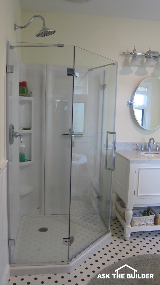 Diy Acrylic Shower Walls Ask The Builderask The Builder