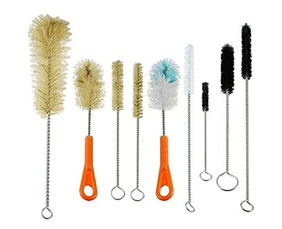 bottle brushes