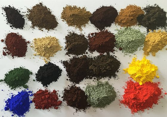 whitewash pigments
