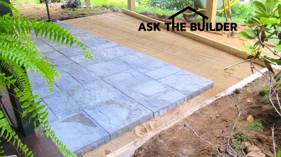 a new paver patio can be a diy job no need for heavy gravel rh askthebuilder com pavers for backyard price pavers for backyard patio