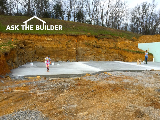 Building on rocky land ask the builder for Ask the builder