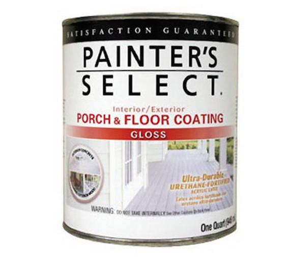 urethane porch paint