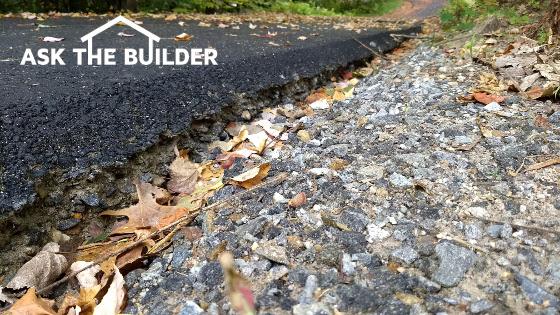 driveway erosion repair
