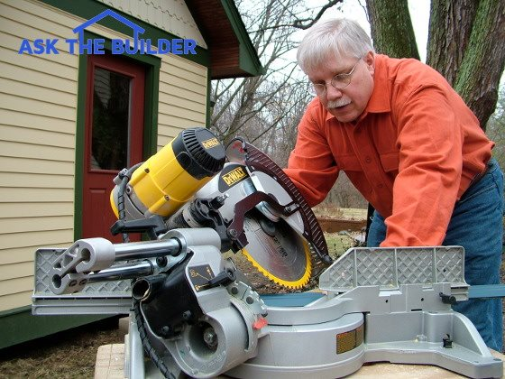 tim compound miter saw