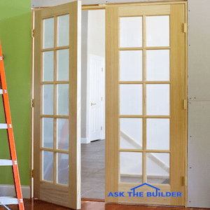 36 X 80 French Doors Interior Closet The