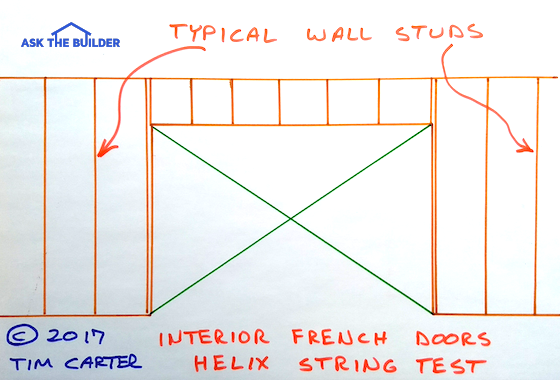 interior french doors helix string test
