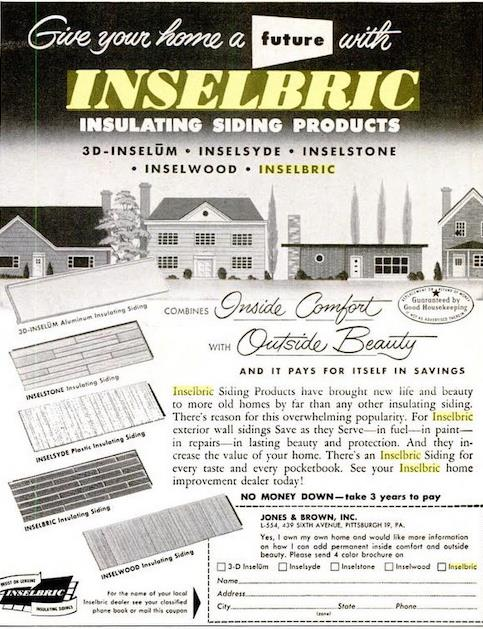 advertisement for Inselbric