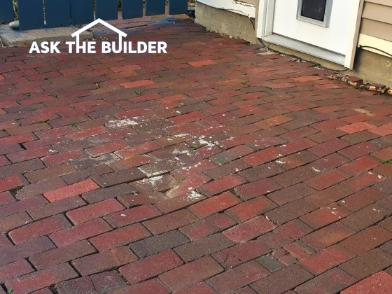 Brick Patio Repair