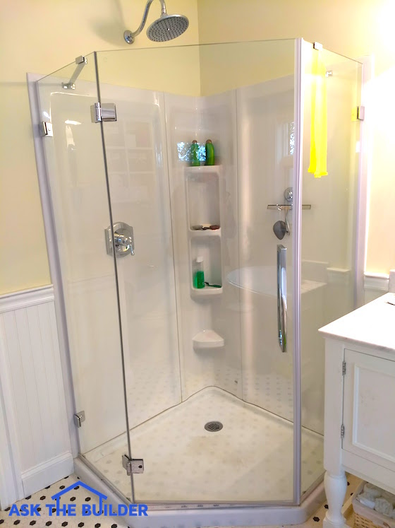 Glass Shower Wall Panels Are Sleek & Smooth -