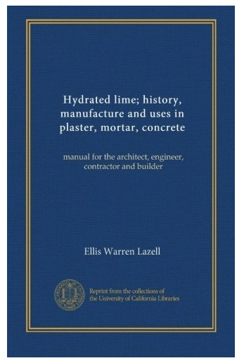 Hydrated Lime Book