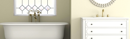 tub and glass