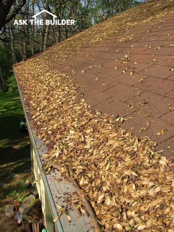 Gutter Protection vs  Gutter Cleaning