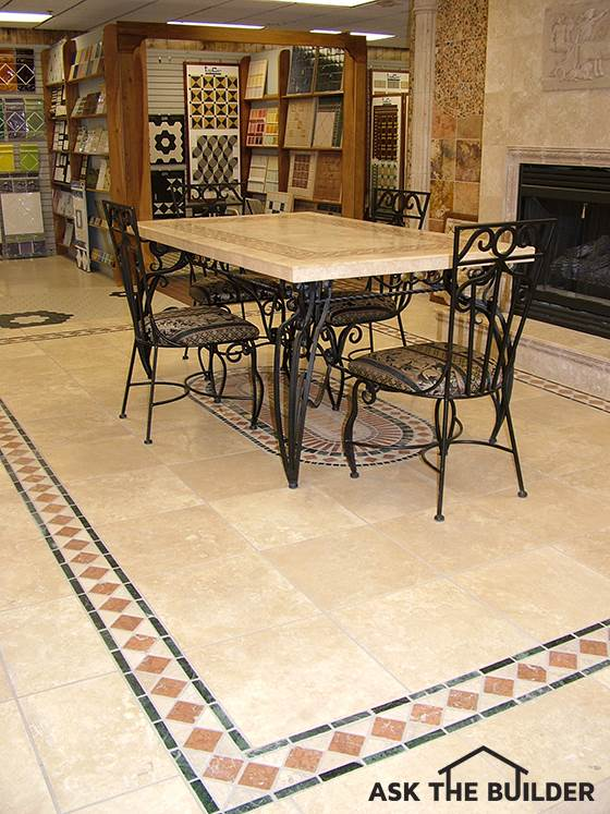 Inlay Tile Flooring