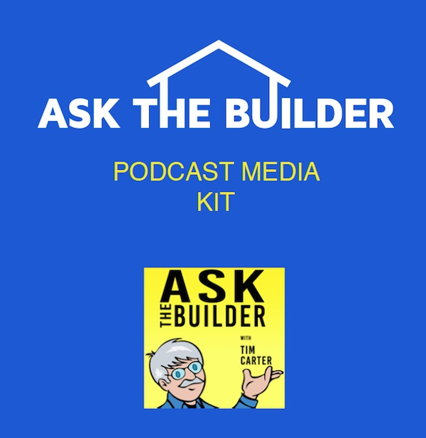 askthebuilder podcast media kit
