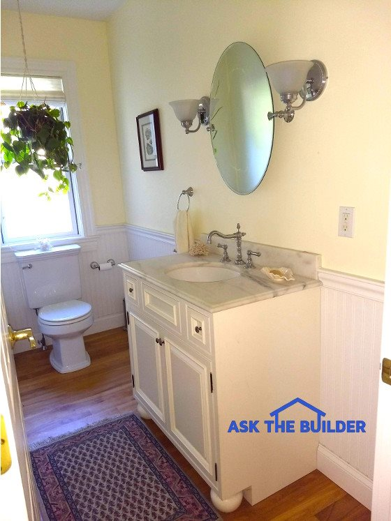 Drywall That Gets Wet And Sinks That Fall Ask The Builder
