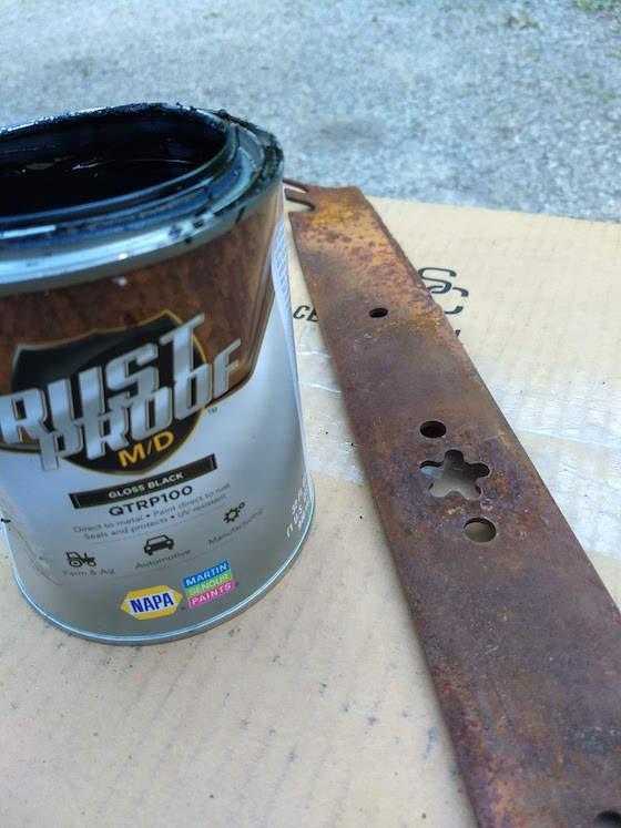rustproof MD paint