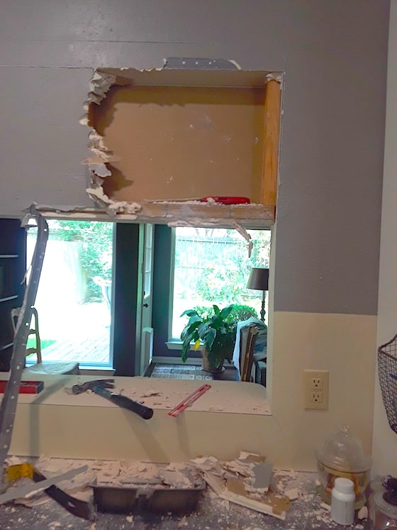 enlarge opening in load bearing wall