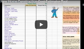 New Home Construction Estimator Podcast