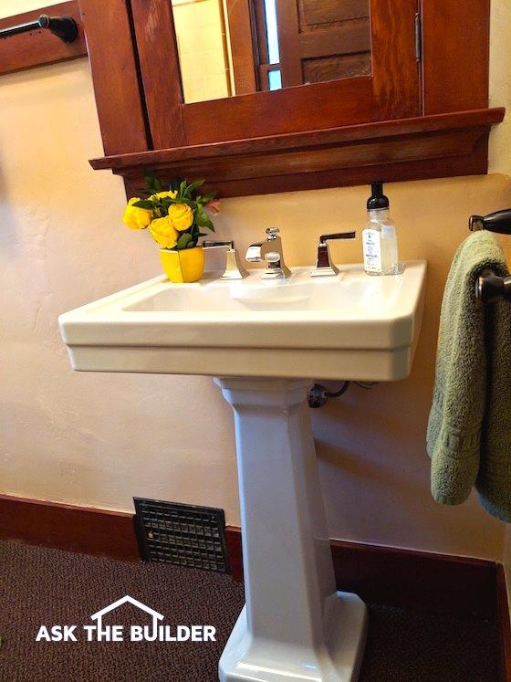 DXV Fitzgerald Sink Remodel